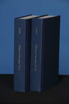 THE HISTORY OF GEORGIA, Volumes I & II. Charles Colcock Jr Jones